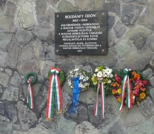 Emléktábla Bogdánfy Ödönnek