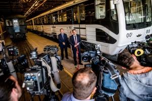 Jövő év márciusában forgalomba állhat az első felújított metrószerelvény