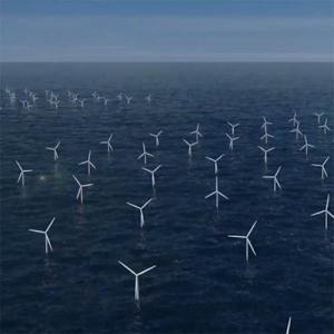Hollandiában átadták az egyik legnagyobb tengeri szélerőmű-parkot
