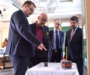 Szentendrére látogatott Luis Sanz, a Tudományos Parkok Nemzetközi Szövetségének főigazgatója