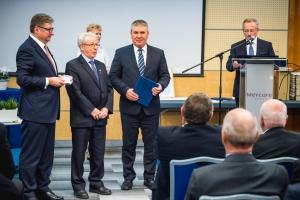 Lechner-díjat vehetett át a BPMK elnöke