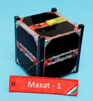 A Magyar Nemzeti Múzeumba került a Masat-1 makettje