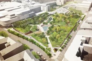 Folytatódik a Millenáris Park bővítése