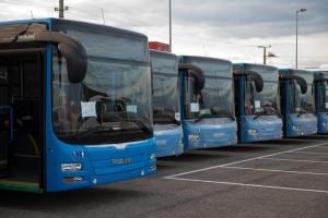 Több mint kétszáz új busz érkezik Budapestre